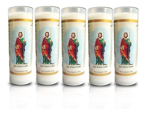 5 velas votivas 7 dias imagem são judas tadeu