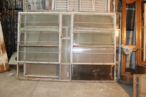 5 ventanales de hierro