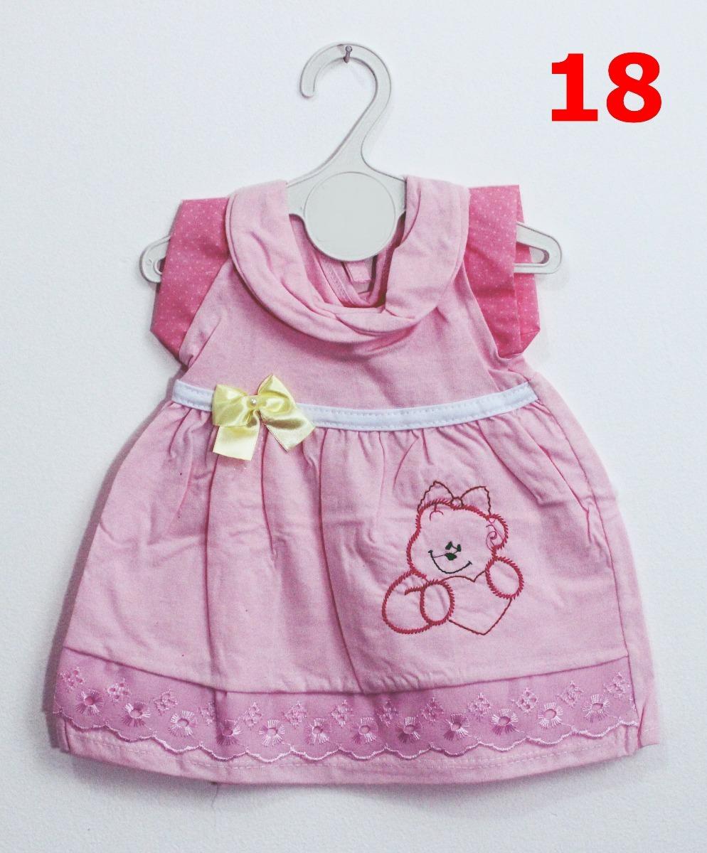 5 Vestidos Bebê 3-6 M Roupa Infantil Menina Frete Grátis !! - R  120 ... 5f7858c78f2e