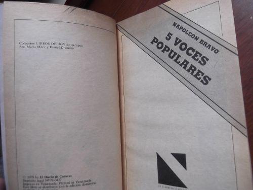 5 voces populares napoleon bravo diario de caracas