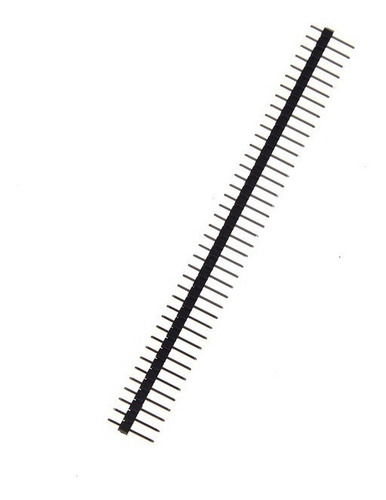 5 x barras de conectores header 40pin para placas pcb