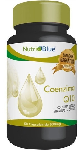 5 x coenzima q10 total 300 caps 500 mg coq10 nutriblue