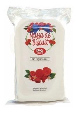 5 x massa massinha biscuit uti guti estojo 12 cores *frete+