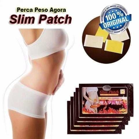 50 adesivos emagrecedor slim patch original pronta entrega