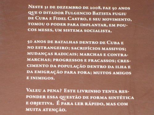 50 anos de socialismo em cuba - pedro castello mestre - 2008