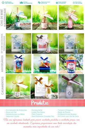 50 aromatizador lembrancinha  maternidade chá bebê + brinde