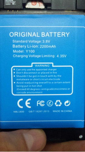 50% bateria doogee valencia 2 y100 pro envio internacional