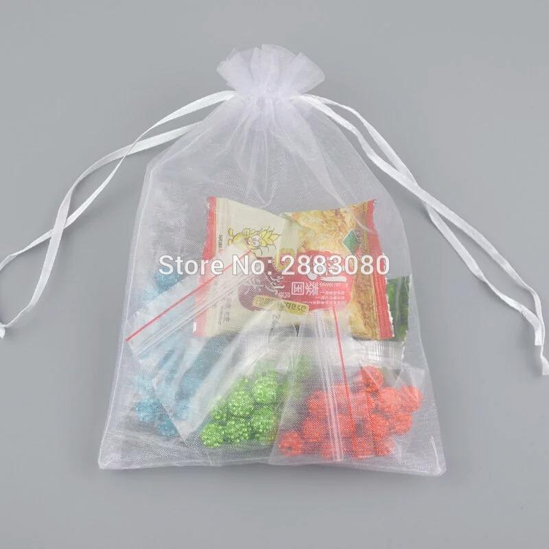 e7c801a63 50 Bolsas De Organza En Blanco Recuerdos Boda10x9 - $ 170.00 en ...