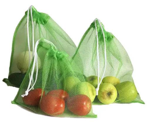 50 bolsas ecologicas para frutas y verduras