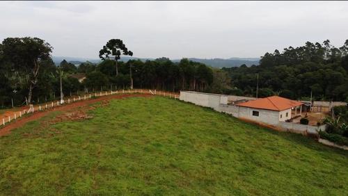 50 c - terreno limpo e cercado 1.000 m2