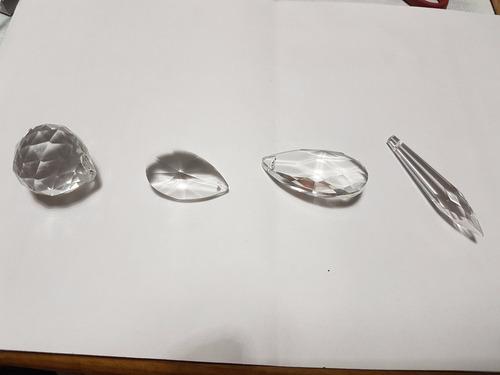 50 caireles  de cristal a eleccion deco cairel