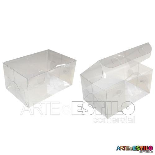 50 caixas acetato 12x8x6 lembrancinhas, docinhos, presentes