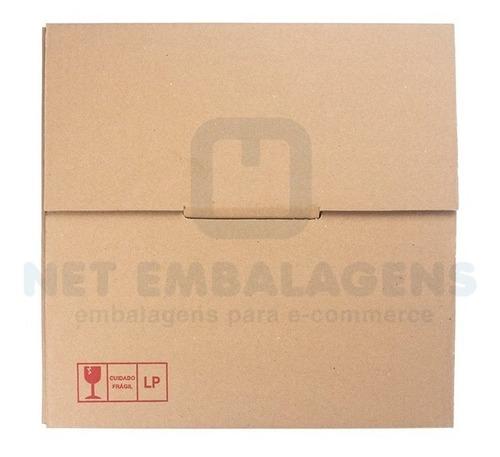 50 caixas papelão envio de disco - lp - vinil - veja video