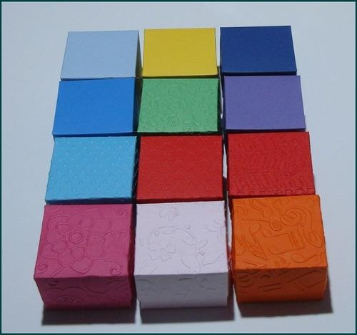 50 caixas/embalagens p/ 01 doce ou trufa.medidas 5 x 5 x 3,5