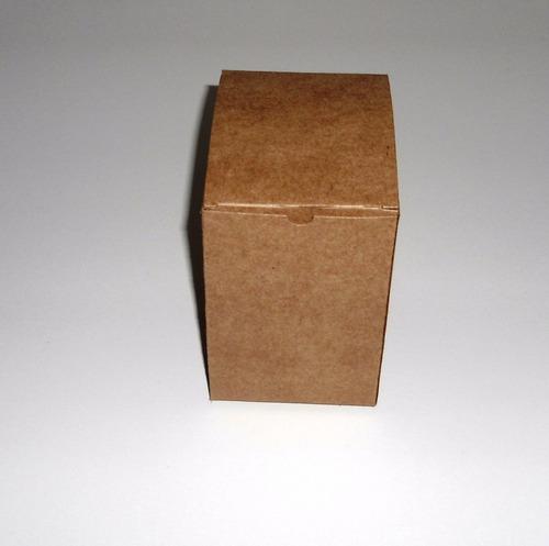 50 caixinhas papel kraft lembrancinha caneca acrilica 300ml