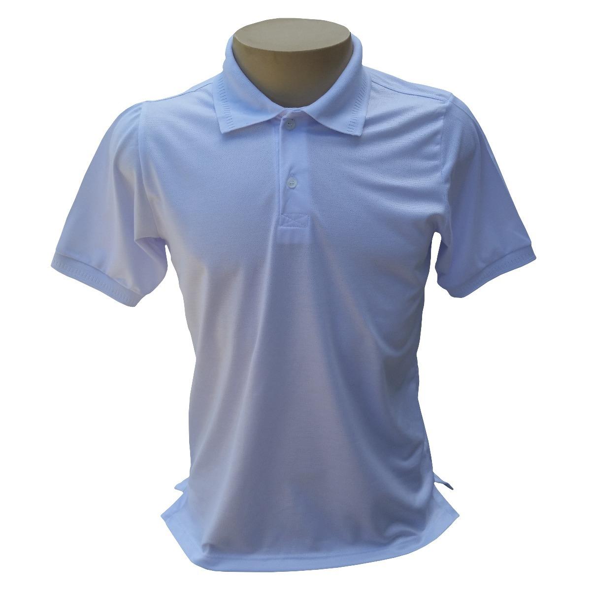 c62fb01994 50 camisas polo piquet 100% poliéster para estampar. Carregando zoom.