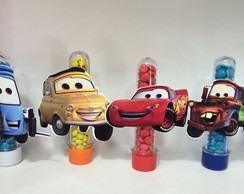 50 carros para tubete recortes 7,5cm