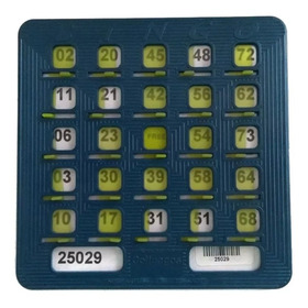 50 Cartones Plásticos Para Bingo Tablas De Bingo Profesional