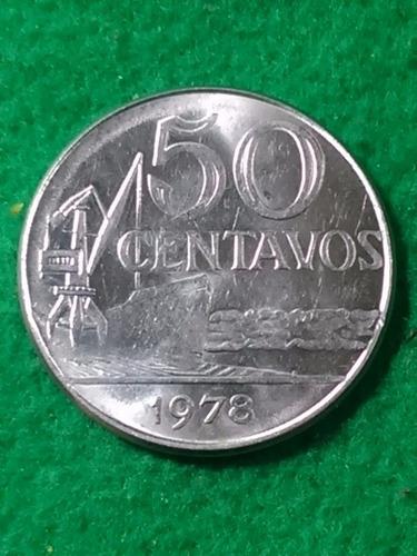 50 centavos. brasil.1978