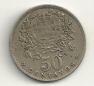 50 centavos - portugal - 1944