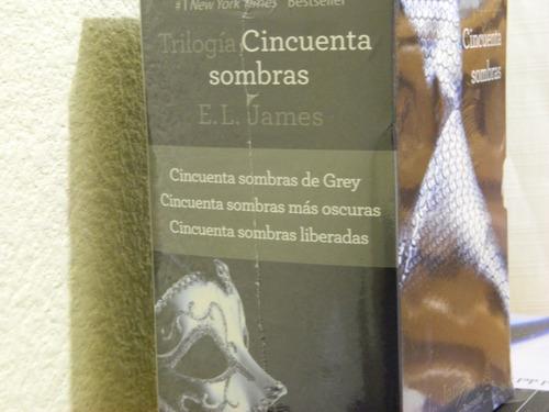 50 cincuenta sombras de grey trilogía - español - original