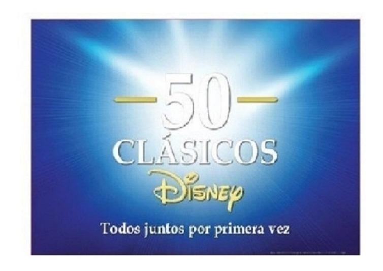 50 Clasicos De Disney Juntos En Una Sola Coleccion 60 00 En