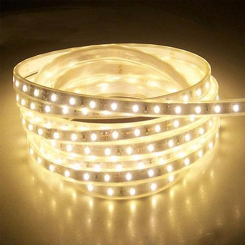 50 cm tira led blanca 60led/m p/exterior con cinta adhesiva