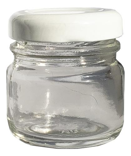 50 colheres + 50 potes simples de vidro p/ brigadeiro e doce