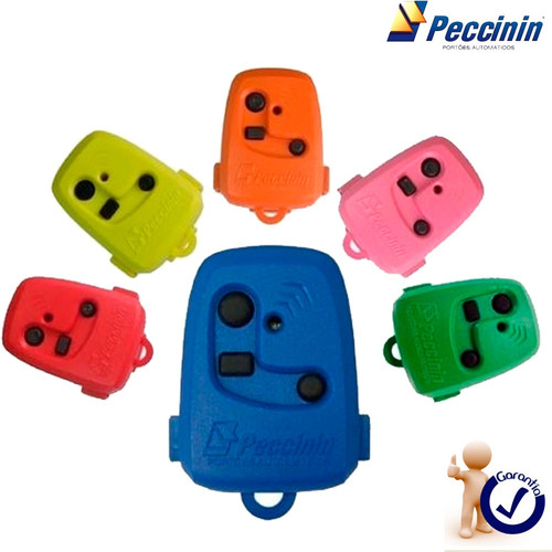 50 controles remoto p/ portão eletronico 433mhz tx peccinin
