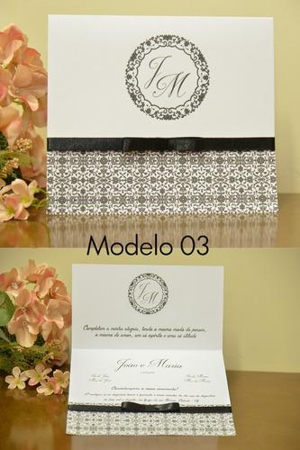50 convites de casamento barato (anuncio com + 10 modelos)