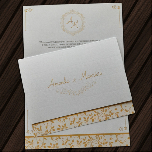 50 convites de casamento muito barato e elegante em promoção