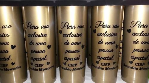 50 copos long drink personalizados 350ml copo grosso 52g