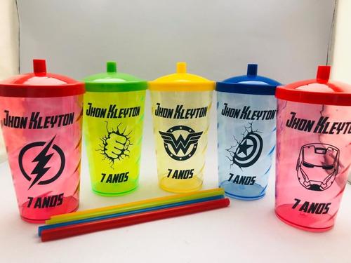 50 copos shake twister  500ml personalizados   promoção