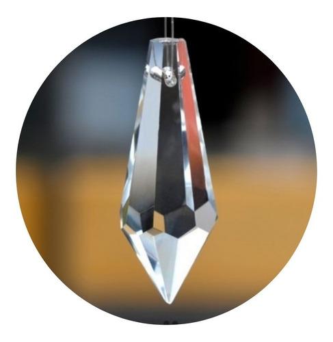 50 cristais pirulito k9 de 3,8 cm para lustres
