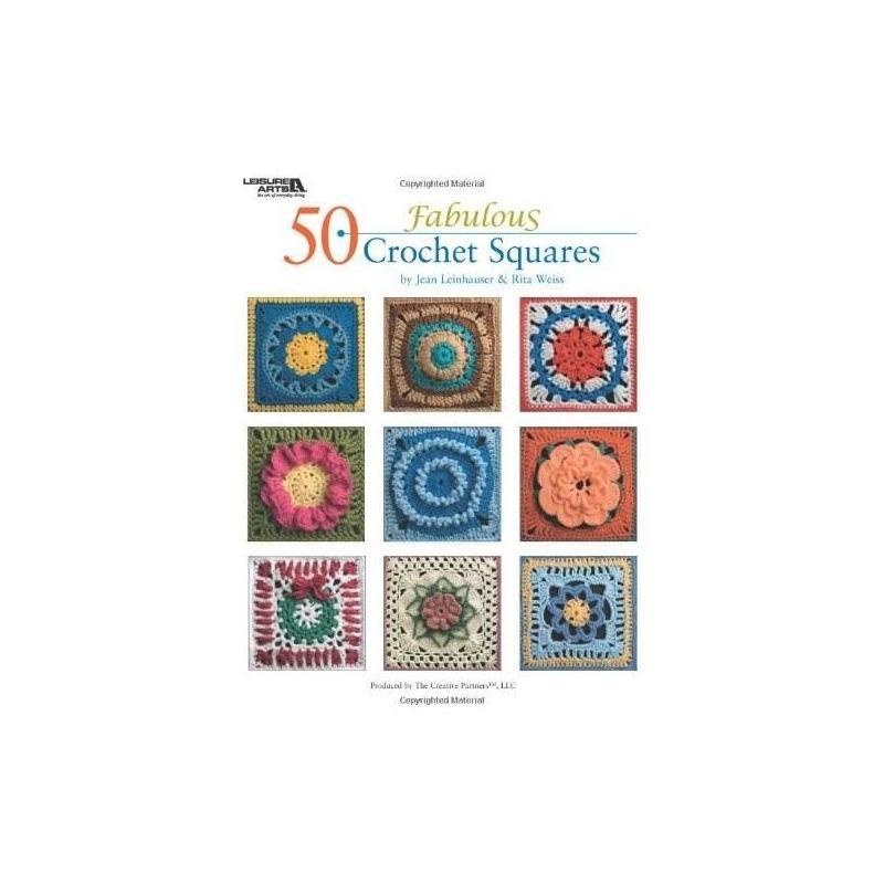 50 Cuadrados Fabulosos Del Ganchillo (ocio Artes - $ 96.609 en ...