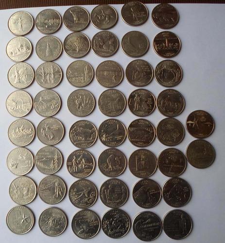 50 cuartos dolar de los estados  de eeuu (nc)