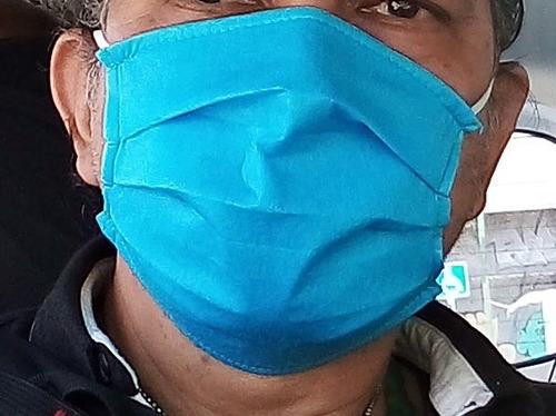 50 cubrebocas tricapa plizado protex de 30 gramos