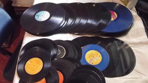50 discos vinil bons s/ capa decoração arte relógio leia td