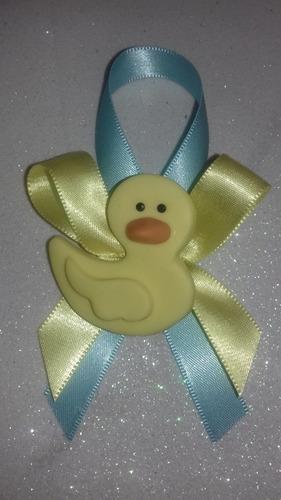 50 distintivos o corsage animalitos baby shower