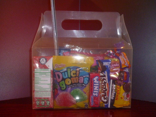 50 dulceros muy resistente para niños