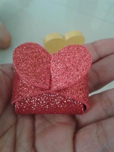 50 embalagens para lembrancinhas (mini bombons trufas)