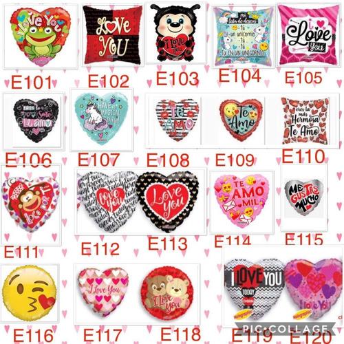 50 globos amor amistad 14 febrero regalo te quiero te amo