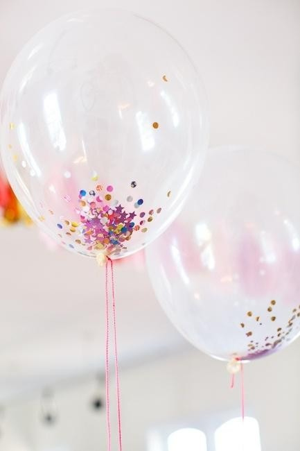globos latex cristal decoracin helio boda