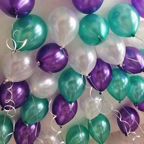 50 globos perlados 12 pulg. por mayor envio gratis desde xxx