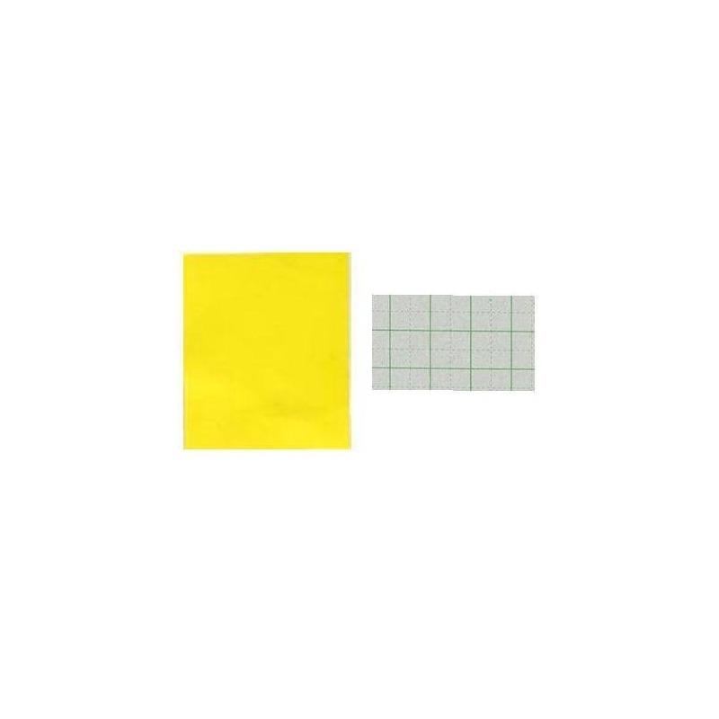 50 Hojas 4 De Color Amarillo Bunun-do Papel De Construcción ...