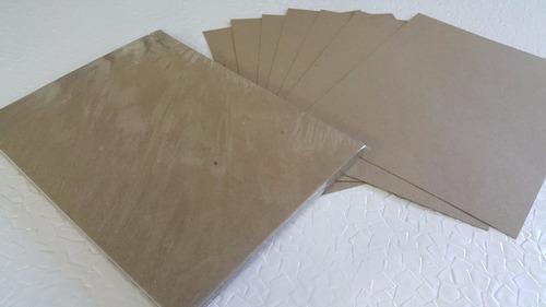 50 hojas de papel cartulina kraft 205 g. tamaño carta