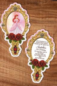 Paquete De Invitaciónes De La Sirenita Invitaciones Y