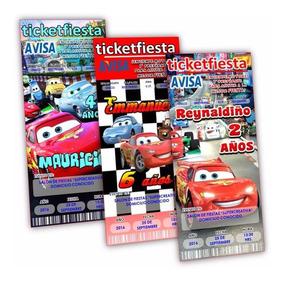 Invitaciones Originales Nemo Cars Un Dise O Env O Gratis