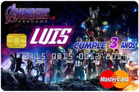 Letras Para Avenger Invitaciones Y Tarjetas Por 50
