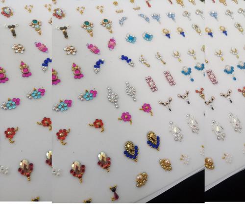 50 joia de unha 25 cart/ pingente de unha/ pedras p/ entrega